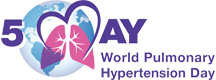 World Pulmonary Hypertension Day logo